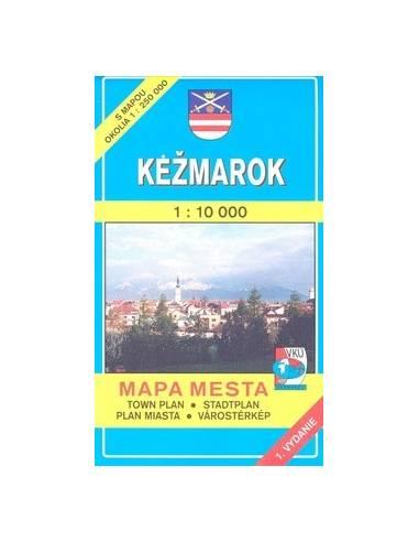 Kezmarok - Késmárk térkép