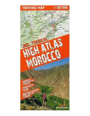 High Atlas - Jbel Toubkal trekking...