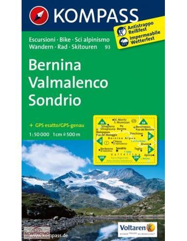 KK 93 Bernina - Valmalenco - Sondrio...