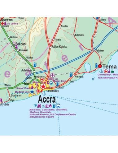 Ghana South & Accra - Dél-Ghana és...