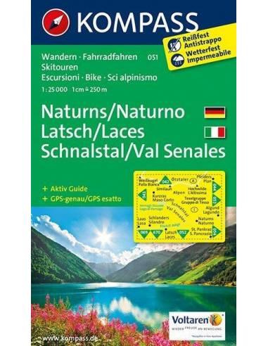 KK 051 Naturns - Latsch - Schnalstal...