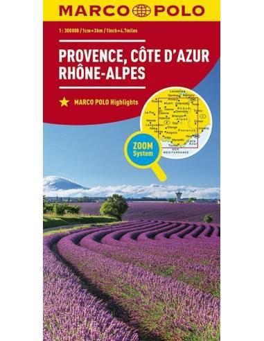 Provence, Cote d' Azur, Rhone-Alpes,...