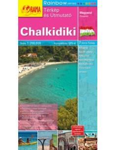 Chalkidiki térkép