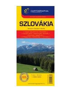 Szlovákia térkép