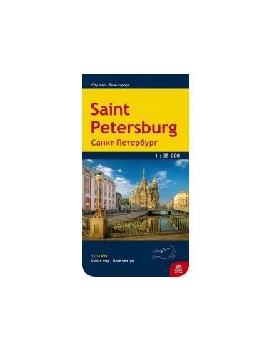 Szentpétervár - St. Petersburg térkép
