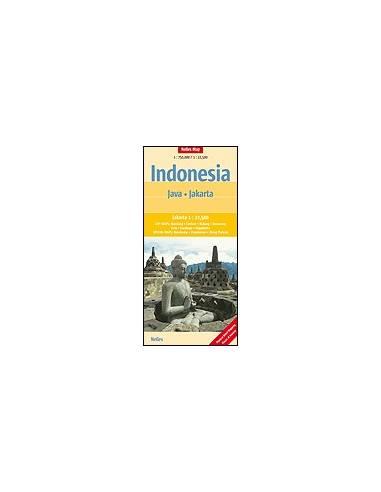 Indonézia: Jáva, Jakarta térkép