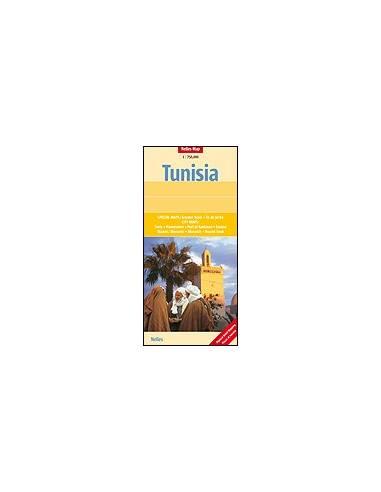 Tunézia térkép - Tunisia