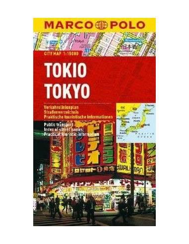 Tokió (Tokyo) Cityplan - MARCO POLO