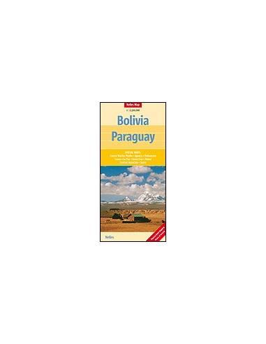 Bolivia, Paraguay térkép