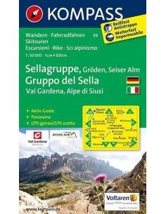 KK 59 Sellagruppe - Gröden...