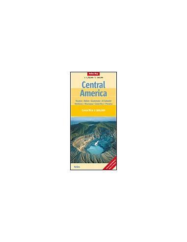 Közép-Amerika térkép - Central...