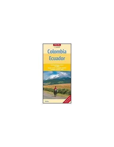 Kolumbia, Ecuador térkép - Colombia -...