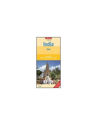 India Kelet térkép - India : East