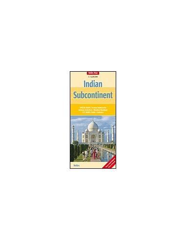 India Szubkontinens térkép - Indian...