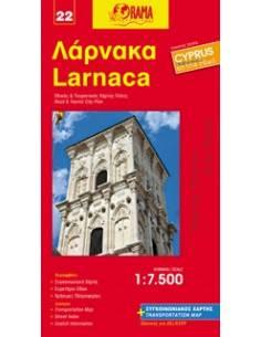 Larnaca - Larnaka térkép (22)
