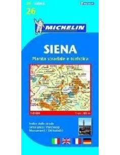 MN 26 Siena várostérkép