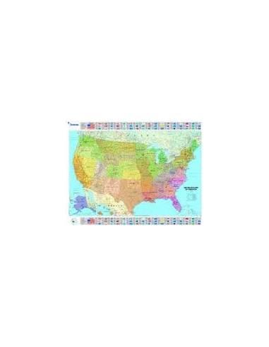 MN 4761 USA politikai falitérkép -...