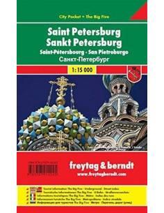 Szentpétervár zsebtérkép -...